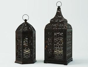 moroccan lanterns model
