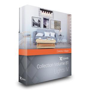 volume 81 lights iv 3D model
