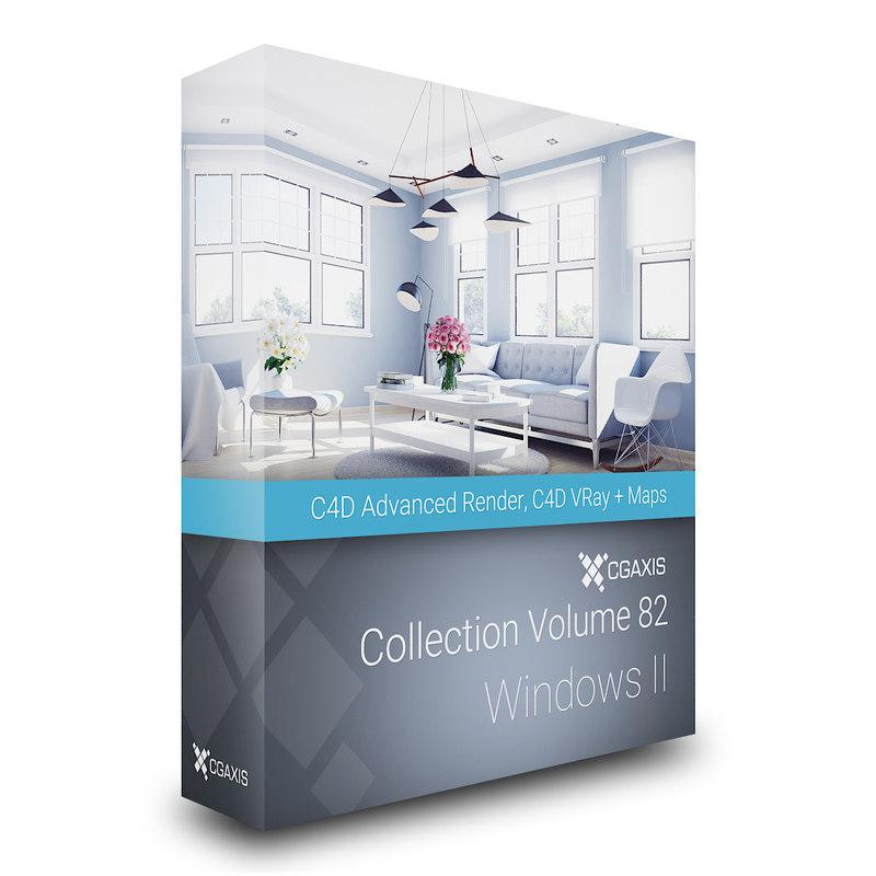 3D model volume 82 windows ii