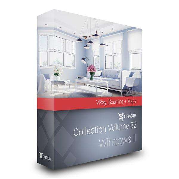 3D volume 82 windows ii model