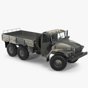 ural 4320 russian cargo model