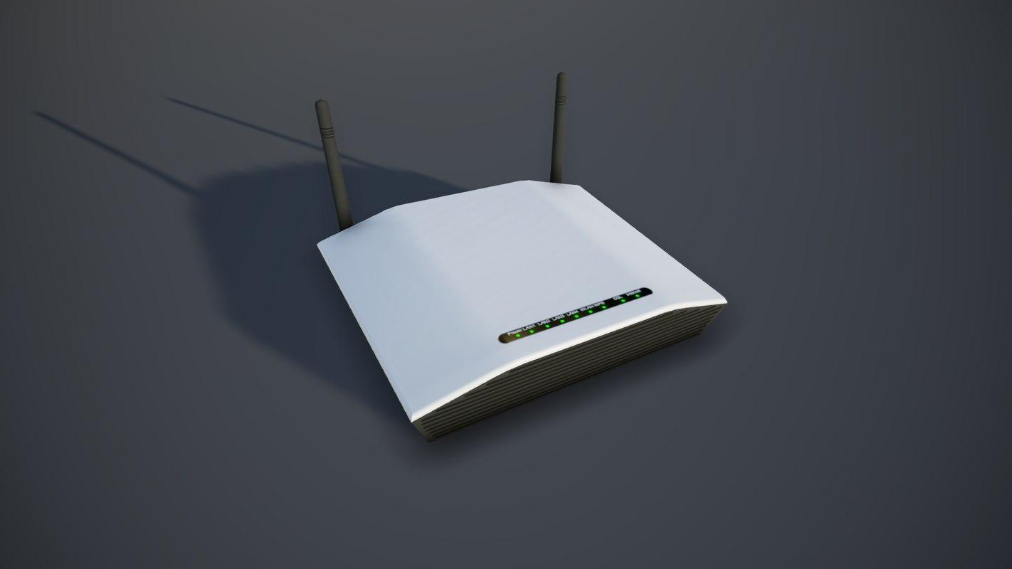 modem pbr 3D model