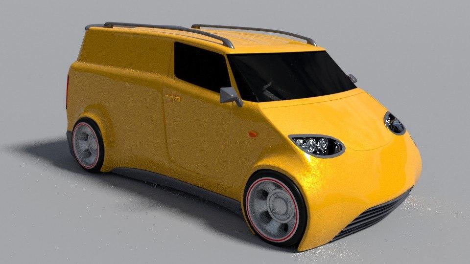 3D furgon