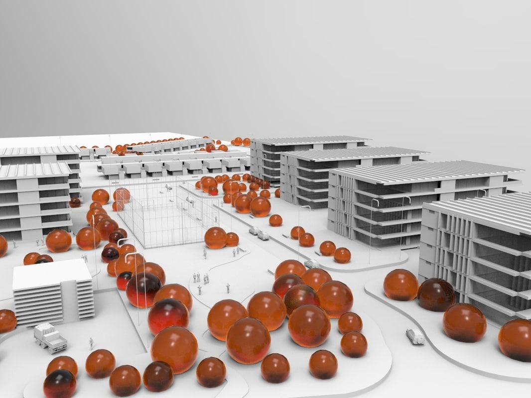 urban planning project street model