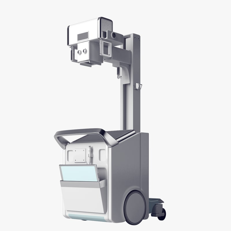3D realistic mobile x-ray model