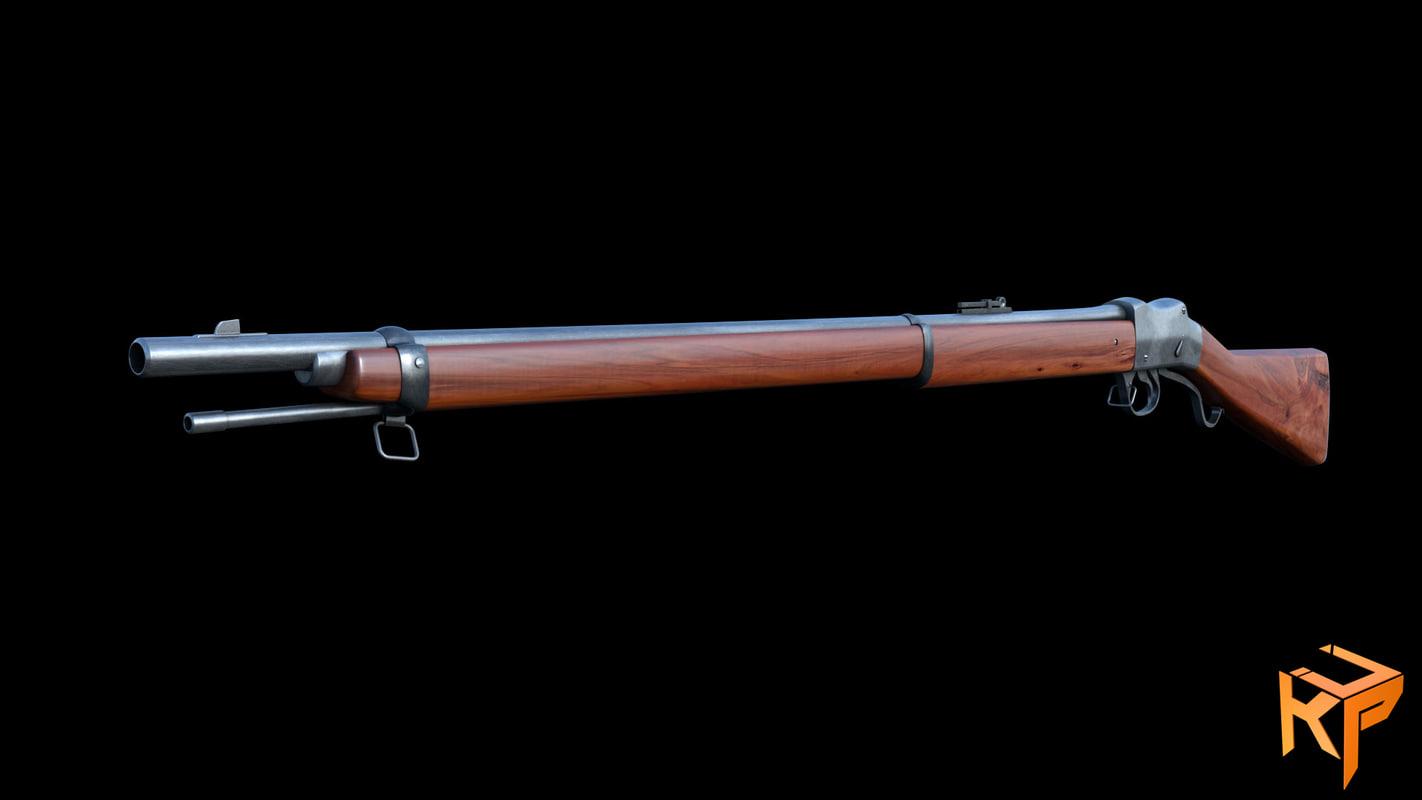 martin 1872 3D model