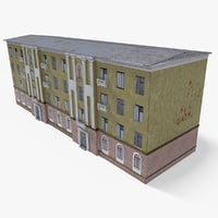 3D east europe building 10