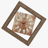 Clock domino