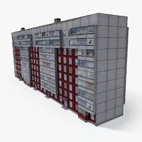 east europe building 3D model