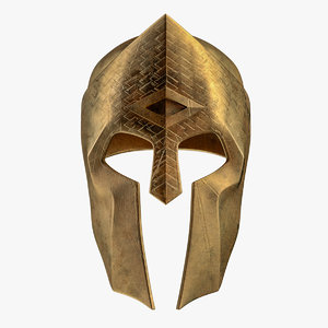 helmet sparta spartan 3D model
