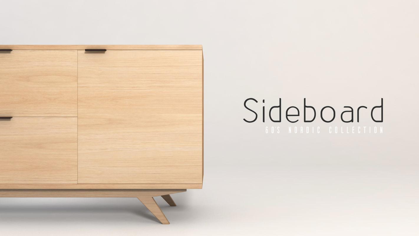sideboard model