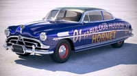hudson hornet 1951 3D