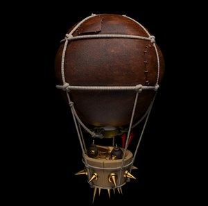 3D war baloon model