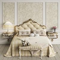 3D savio firmino 1767 bedroom
