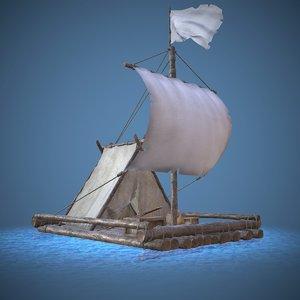 raft water 3D