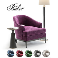 3D baker lounge chair