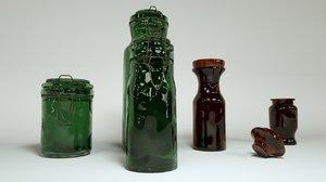 jars octane 3D model
