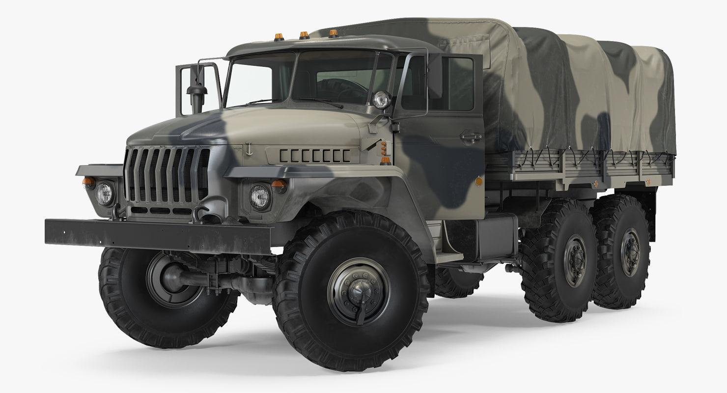 military truck ural 4320 model