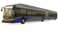 bus vancouver 3D