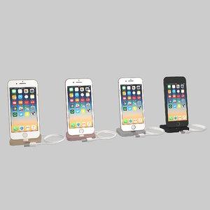 apple iphone 7 3D model