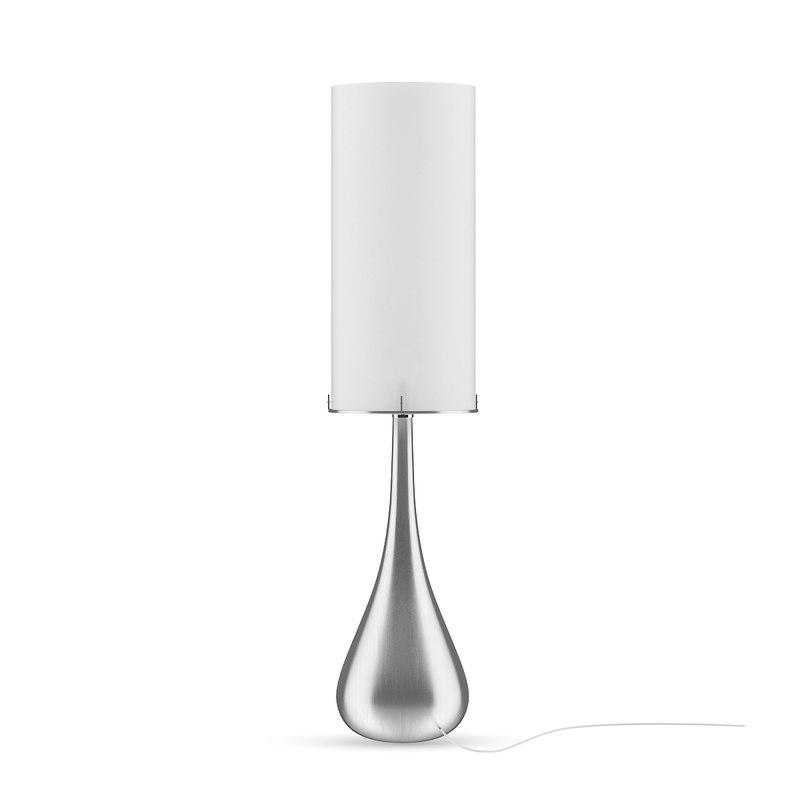 tall metal desk lamp 3D