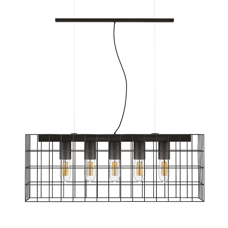 large ceiling lamp wire 3D model