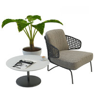 garden armchair aston cord 3D model