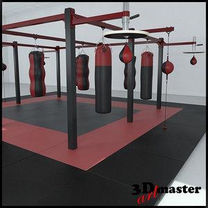 3D station frame boxing