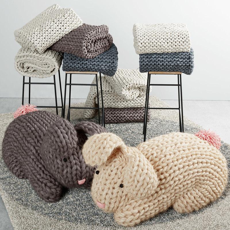 3D knitting weaving