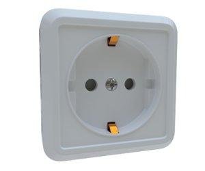 outlet 3D model