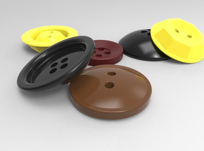 buttons print model