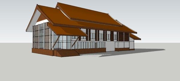 indoor theater 3D model