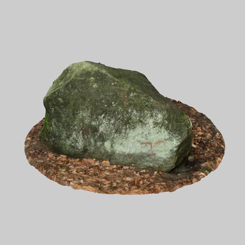 moss rock model