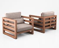 3D chair club manhattan