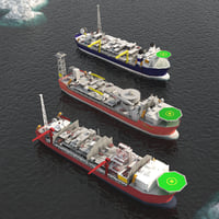 FPSO offshore platform  pack