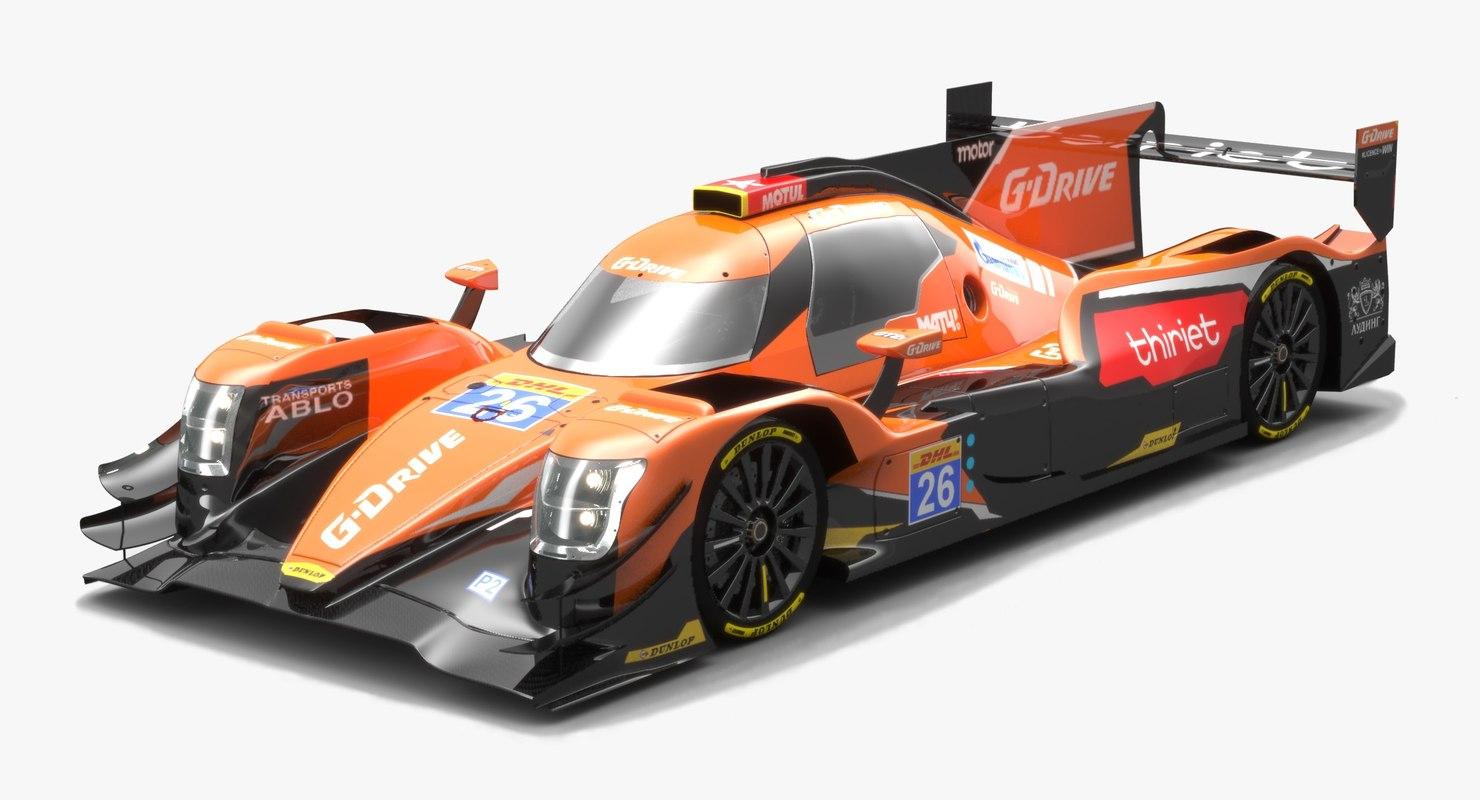 3D g-drive racing lmp2 wec