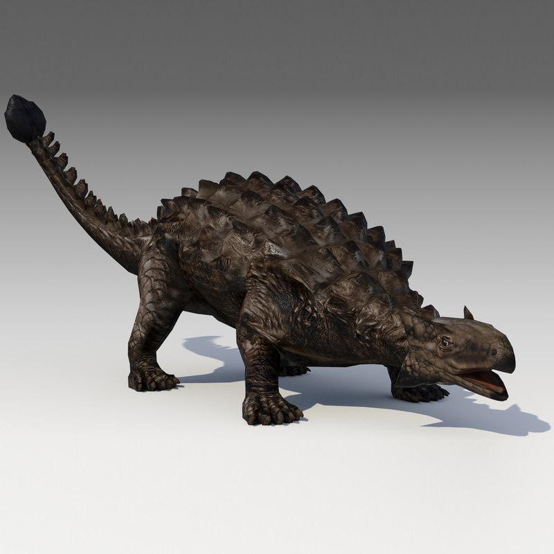 ankylosaurus 3D