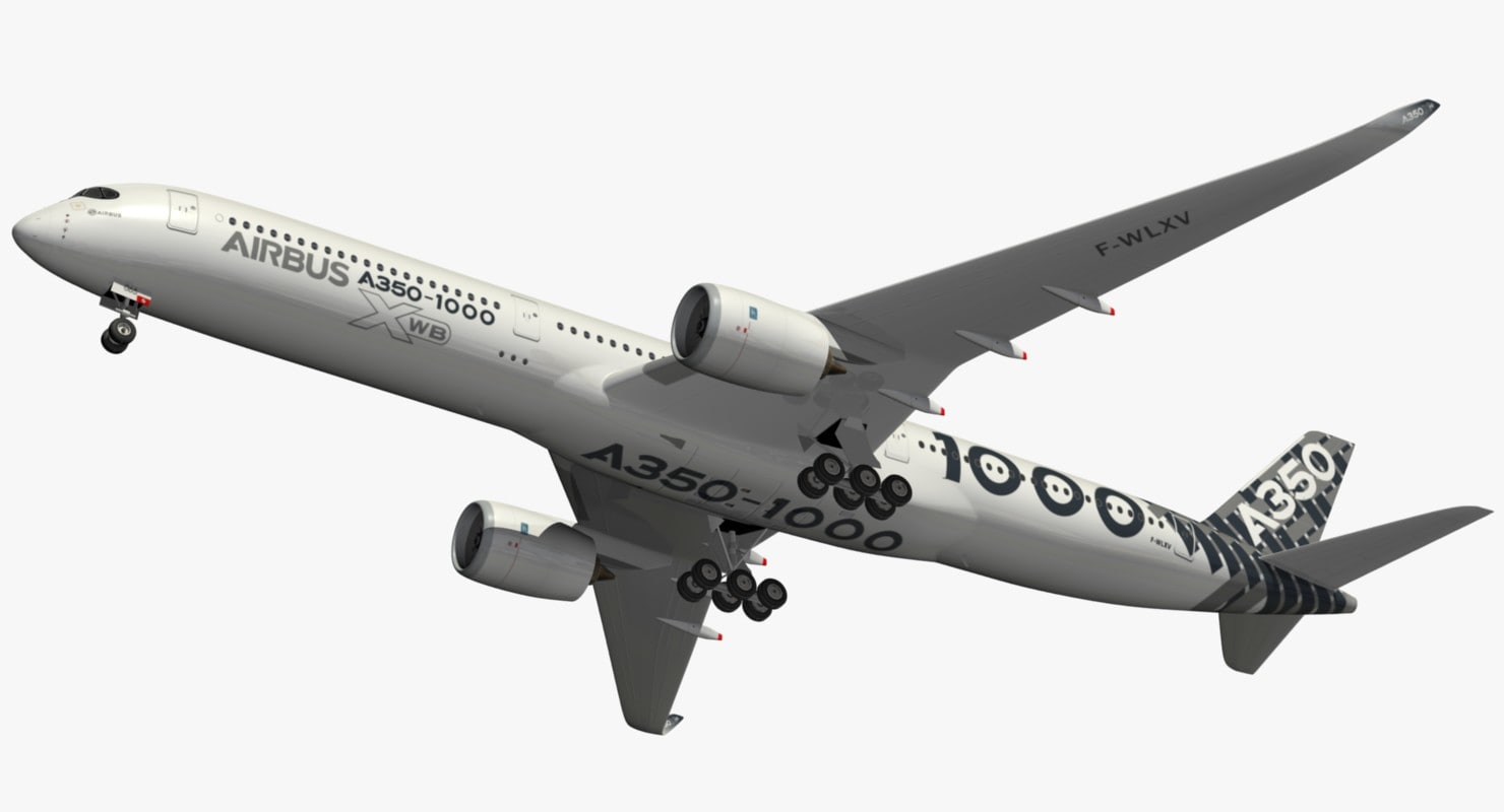 airbus carbon livery 3D model