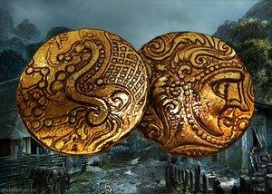 coin celtic 3D