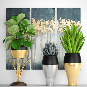 luxury plants model
