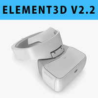 E3D - DJI Goggles FPV Drone Flying Headset model