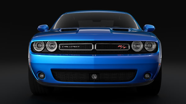 3D dodge challenger rt