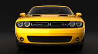 dodge challenger rt 3D