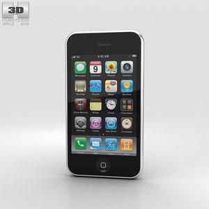 iphone 3g apple 3D model