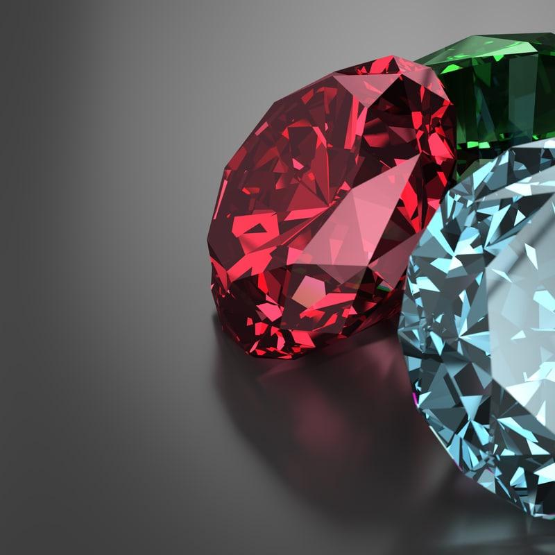 cut diamond 3D