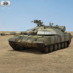t-64bm t-64 t 3D model
