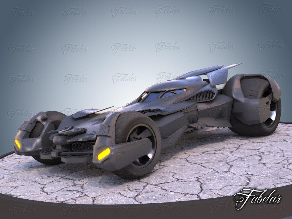 3D bat vehicle