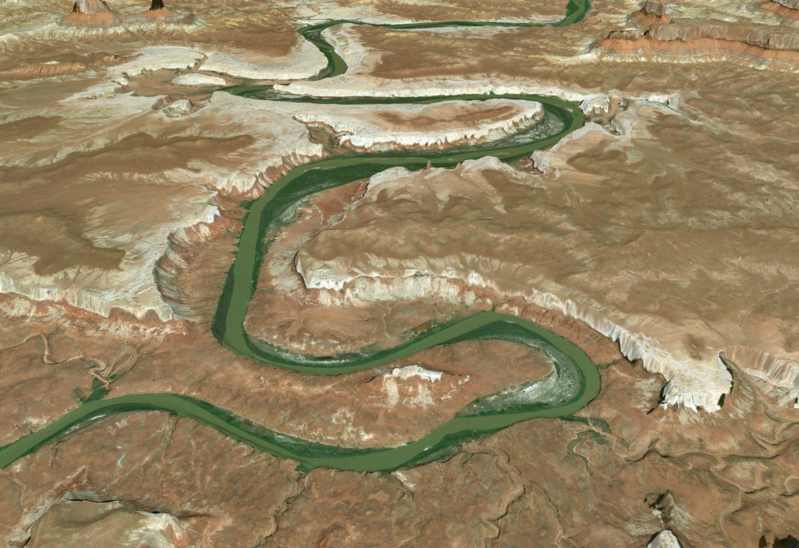 canyon canyonlands 3D model