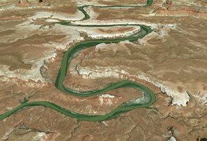 canyon canyonlands 3D model