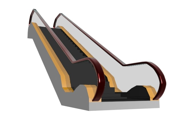 cost escalator 3D